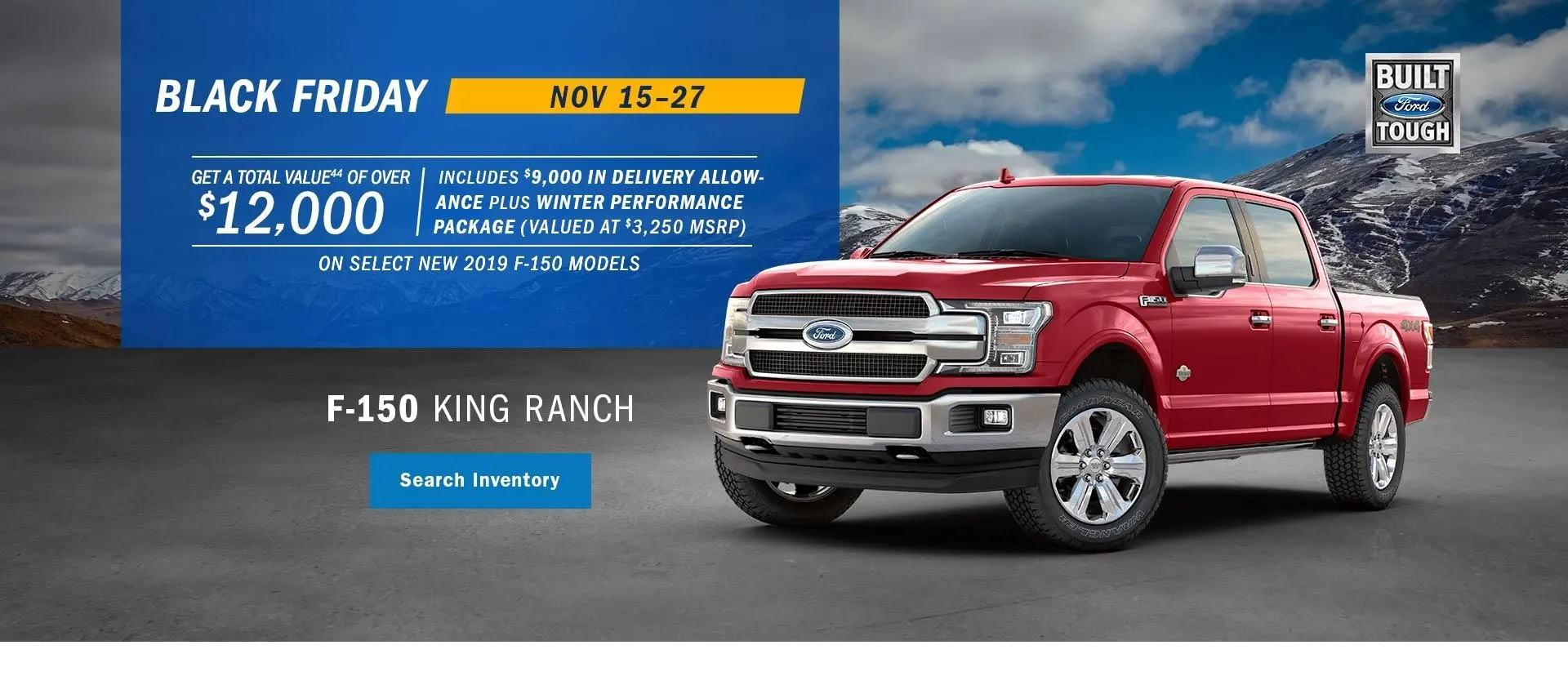Mainland Ford Vancouver Black Friday Deals
